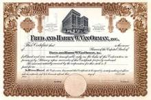 Fred and Harry W. Van Orman, Inc. - Illinois - Hotel Orlando Vignette - Famous Hotel Company