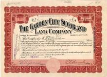 Garden City Sugar and Land Company 1914 - Colorado