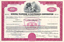 General Telephone and Electronics Corporation - 1960's - 1970's