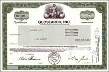 Geosearch Incorporated