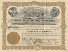 Golden Gate Mining Company - Mines situated in Mono County, California