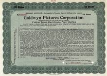 Goldwyn Pictures Corporation 1919 - Pre MGM