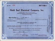 Gold Seal Electrical Company, Inc. 1934
