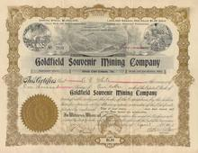 Goldfield Souvenir Mining Company -Goldfield, Nevada