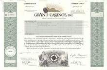 Grand Casinos, Inc. ( Now Park Place Entertainment )