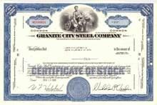 Granite City Steel Company ( Now U.S. Steel )