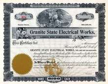 Granite State Electrical Works - Lisbon, New Hampshire