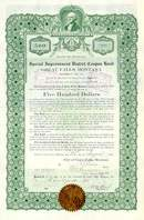 Great Falls, Montana - Special Improvement Bond 1913