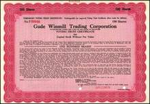 Gude Winmill Trading Corporation