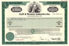 Gulf & Western Industries, Inc. (Now Paramount Communications)