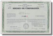 Hershey Oil Corporation Certificate