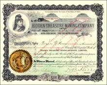 Hidden Treasure Mining Company 1895