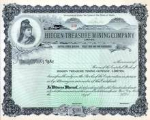 Hidden Treasure Mining Company, Limited - Idaho