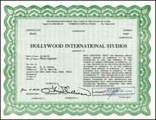 Hollywood International Studios