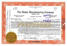 Huber Manufacturing Company - Marion, Ohio