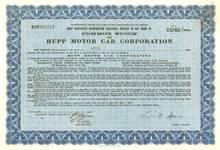Hupp Motor Car Corporation 1929