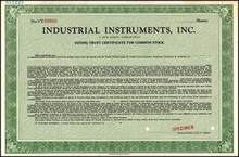 Industrial Instruments, Inc. (Beckman Instruments)