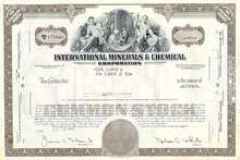International Minerals and Chemical Stock