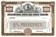 International Paper and Power Company ( Early International Paper Company )