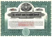Intercity Radio Telegraph Company 1921 - Famous Legal Court Case