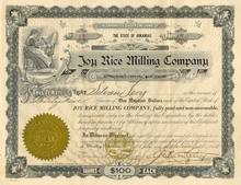 Joy Rice Milling Company of Arkansas 1918