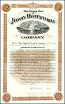 Judson Manufacturing Company 1887 - Oakland, California - Signed by Egbert Judson ( Giant Powder Dynamite Inventor )