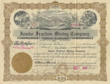 Jumbo Fraction Mining Company - 1906