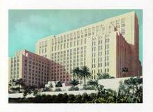 Jumbo Postcard from Los Angeles County Hospital, California