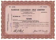 Kardar Canadian Oils Limited