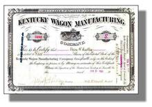 Kentucky Wagon Manufacturing Company 1909