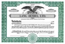 Lang Homes, LTD.