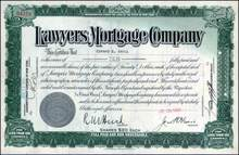 Lawyers Mortgage Company 1930 - American Title Insurance