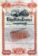 Lehigh Valley Terminal Railway Company 1891