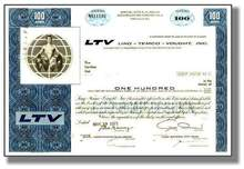 LTV Corporation (Ling-Temco-Vought) - Pre Bankruptcy