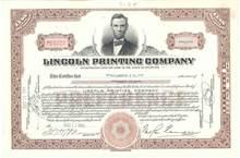 Lincoln Printing Company 1949 - Delaware ( Now Elpeeko )