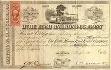 Little Miami Railroad Company 1860's- Civil War / Reconstruction Era