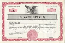 Los Angeles Sharks, Inc. 1971