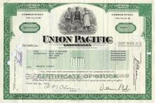 Union Pacific Corporation Stock and Picture Postcard: Lot of 10 - Union Pacific Corporation