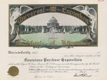 Universal Exposition - Lousiana Purchase Exposition St. Louis 1904