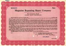 Magazine Repeating Razor Company - Early Schick Razors - Now Warner-Lambert / Pfizer