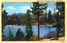 Meek's Bay and Rubicon Peaks, Lake Tahoe Postcard