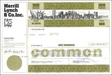 Merrill Lynch & Co. 1976 - Manhattan Skyline Vignette including WTC