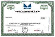 Mesa Petroleum Co. - T. Boone Pickens as President