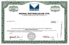 Mesa Petroleum Co. - T. Boone Pickens as President