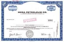 Mesa Petroleum Co.