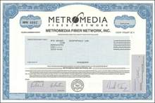 Metromedia Fiber Network - Metromedia under Investigation by SEC
