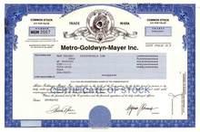 MGM - Metro-Goldwyn-Mayer Inc.