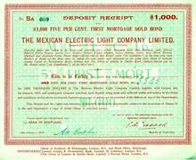 Mexican Electric Light Company - 1916