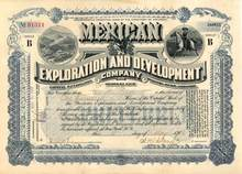 Mexican Exploration and Development Company 1903 - Territory of Arizona