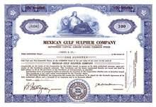 Mexican Gulf Sulphur Company